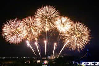 Pyromusical competition, it's my first time to watch a fireworks competition live. Truly amazing...