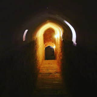 The tunnel of Amber Fort
