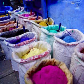 Color of Morocco